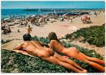 On the beach at Cap d'Agde