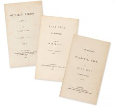 The first editions were published under the Bronte sisters'male ___
