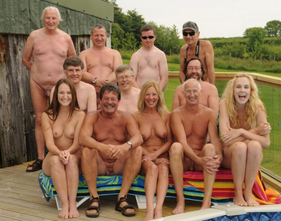 Interracial group nude sunbathing pictures consider